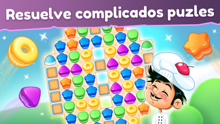 Captura de Pantalla 2 de Cookie Blast Fever - Match 3: Tour de cocina dulce para windows