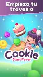 Captura 10 de Cookie Blast Fever - Match 3: Tour de cocina dulce para windows