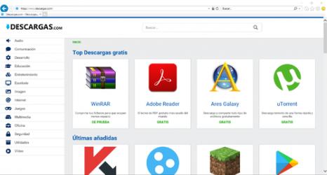 Captura 1 de Internet Explorer para windows