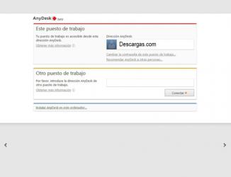 Captura de Pantalla 2 de AnyDesk para windows