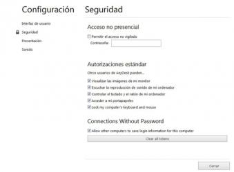 Captura 3 de AnyDesk para windows