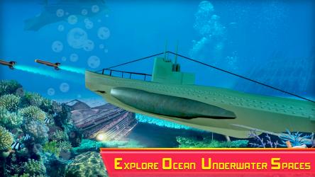 Screenshot 4 de Submarine Strike: Submarine Driving Combat para android