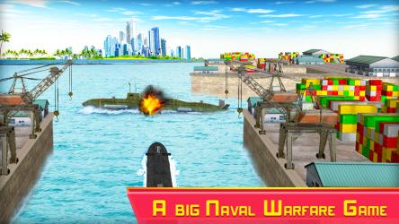 Imágen 3 de Submarine Strike: Submarine Driving Combat para android