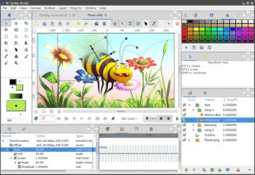 Captura de Pantalla 4 de Synfig para windows