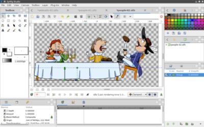 Captura de Pantalla 2 de Synfig para windows