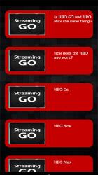 Screenshot 4 de Streaming Guide for HBO GO TV para android