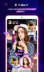 Screenshot 12 de FaceCast:Haz nuevos amigos, Chat & Conoce, En vivo para android