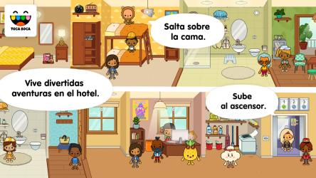 Screenshot 3 de Toca Life: Vacation para android