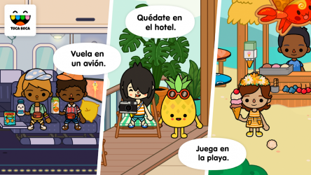 Screenshot 14 de Toca Life: Vacation para android