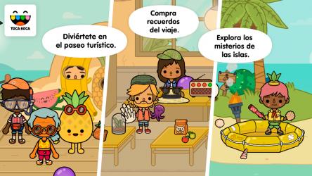 Screenshot 4 de Toca Life: Vacation para android