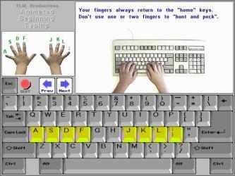 Captura 4 de Typing Guides para windows