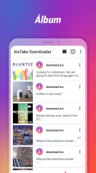 Captura de Pantalla 6 de Descargador de fotos y videos para Instagram para android