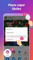 Captura 4 de Descargador de fotos y videos para Instagram para android