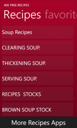 Captura 2 de 400 Free Recipes para windows