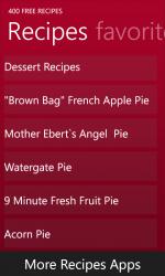 Captura 3 de 400 Free Recipes para windows