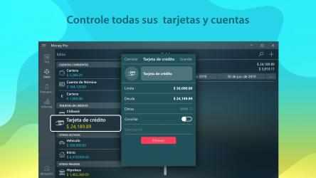 Captura de Pantalla 3 de Money Pro - Finanzas Personales, Presupuesto para windows