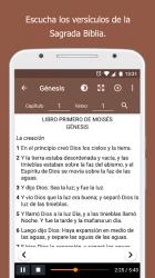 Captura de Pantalla 3 de Santa Biblia sin conexión + Audio para android