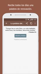 Screenshot 8 de Santa Biblia sin conexión + Audio para android