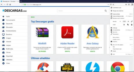 Captura 2 de Mozilla Firefox para windows