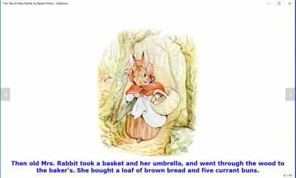 Captura 14 de The Tale of Peter Rabbit, by Beatrix Potter - Slideshow para windows