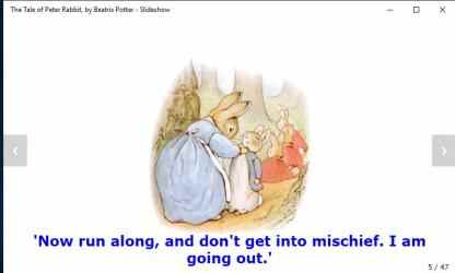 Imágen 8 de The Tale of Peter Rabbit, by Beatrix Potter - Slideshow para windows