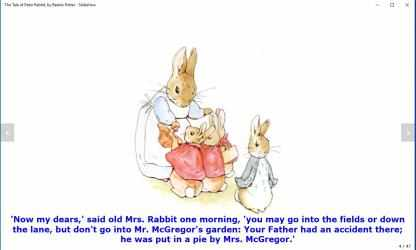 Screenshot 13 de The Tale of Peter Rabbit, by Beatrix Potter - Slideshow para windows