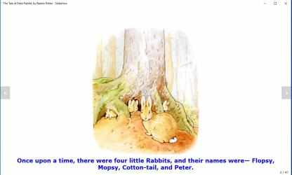 Imágen 12 de The Tale of Peter Rabbit, by Beatrix Potter - Slideshow para windows