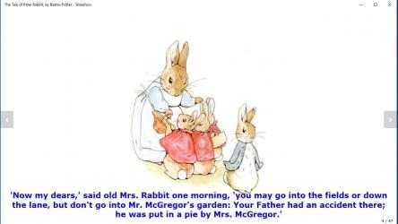 Captura 3 de The Tale of Peter Rabbit, by Beatrix Potter - Slideshow para windows