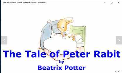 Captura de Pantalla 5 de The Tale of Peter Rabbit, by Beatrix Potter - Slideshow para windows