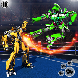 Screenshot 11 de Futuristic Robot Ring Fighting 2020 para android