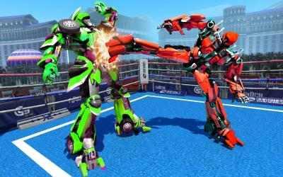 Captura 14 de Futuristic Robot Ring Fighting 2020 para android