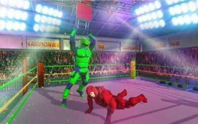 Captura 8 de Futuristic Robot Ring Fighting 2020 para android
