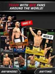 Captura de Pantalla 2 de UFC KNOCKOUT MMA Cambia Cromos para android