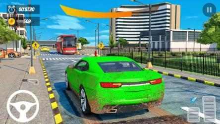 Captura de Pantalla 4 de Car Wash Service Truck Game - Car Mechanic 3D para android