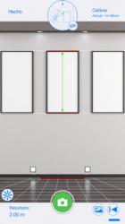 Captura 2 de CamMeasure Lite ¡Mida altura anchura distancia para iphone