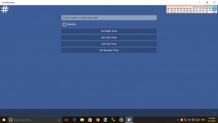 Screenshot 3 de Trivial Numbers para windows