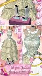 Captura de Pantalla 6 de Juegos de diseñar vestidos de novia y zapatos para android