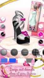 Captura 4 de Juegos de diseñar vestidos de novia y zapatos para android