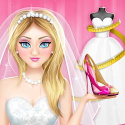 Captura de Pantalla 1 de Juegos de diseñar vestidos de novia y zapatos para android
