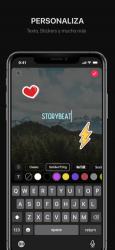 Captura de Pantalla 3 de Storybeat para iphone