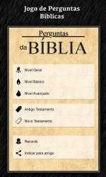 Captura 1 de Perguntas da Bíblia para windows