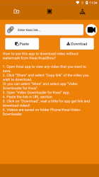 Screenshot 2 de Descargar vídeo de Kwai sin marca de agua para android