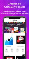 Imágen 3 de Creador de Carteles gratis Folletos Publicidad para android