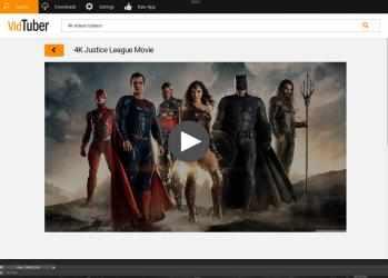 Captura de Pantalla 2 de VidTuber - YouTube Descargar Musica MP3 & YouTube MP4 Convertidor Video para 4K para windows