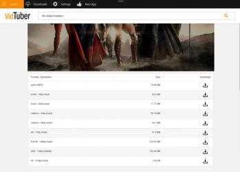 Captura de Pantalla 3 de VidTuber - YouTube Descargar Musica MP3 & YouTube MP4 Convertidor Video para 4K para windows