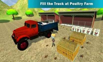 Captura 2 de Poultry Farm Business: Chicken Egg Transport para windows