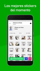 Imágen 3 de Stickers Nuevos para Whatsapp 2021 Memes y Frases para android