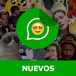 Imágen 1 de Stickers Nuevos para Whatsapp 2021 Memes y Frases para android