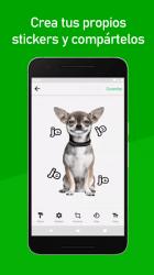 Screenshot 5 de Stickers Nuevos para Whatsapp 2021 Memes y Frases para android