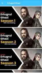 Captura de Pantalla 3 de Ertugrul Ghazi Drama in Urdu & English para android